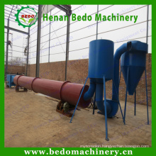 China best supplier industrial wide used rotary drum rice husk dryers machine / rice husk dryer 008613343868847