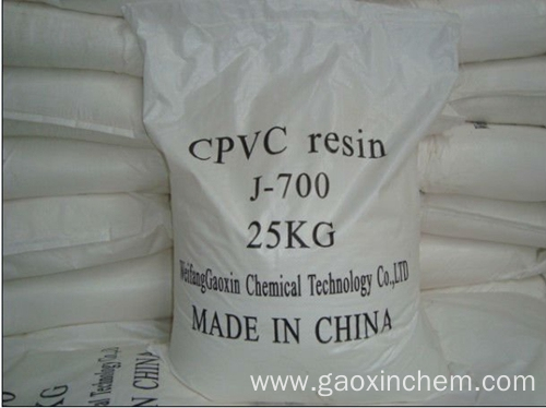 Chlorinated Rubber Resin CPVC Resin with good quality