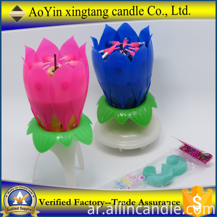 Birthday Candle With Gift Box