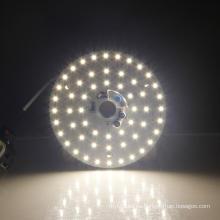 Tablero pcb de luz led luz led de color cálido