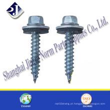 Parafuso autoperfurante hexagonal para uso em telhados