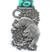 Wholesale Custom Metal Ghana Horse Resin Medals