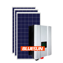 Solar on grid system home with batteries hybrid solar system battery bluesun 5kw solar system off grid complete home solar