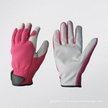 Schweinekorn-Leder-Mechaniker-Gartenarbeit-Handschuh-7317