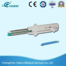 Grapadora de corte lineal y unidad de carga de un solo uso