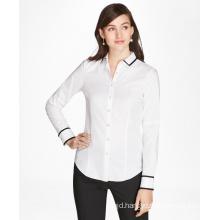 Women Crisp Cotton Chambray Shirt