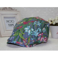 Wholesale high quality flat peak cap