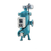 Filtro de agua autolimpiante automático con colador de cuña de acero inoxidable 304 (YLXS)