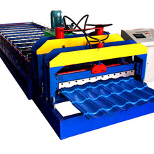 single layer corrugated roof steel sheet making roll forming machine