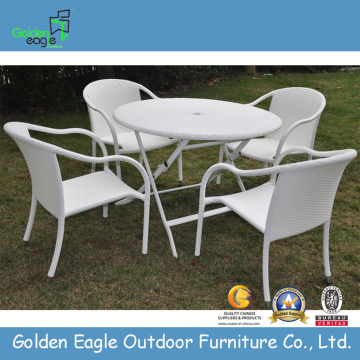 Ny design White Rattan Patio Furniture