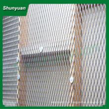 Alumínio expandido malha de metal / malha de arame srand largo pequeno orifício