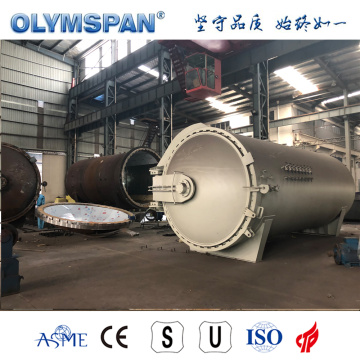 Autoclave ASME pour collage composite standard