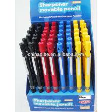 venta por mayor lápiz mecánico con función de sacapuntas.