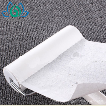sticky lint roller for removing dirt