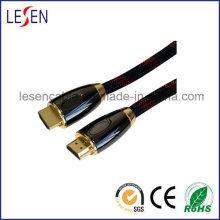 Couvercle en métal d'assemblage de câble