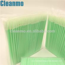 Industrial Use ESD Cleanroom Foam Swab/sharp tip swab 750 Fiber Optical Swab-Nanotip for Mobile display