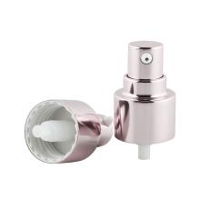 Pompe de pulvérisation de traitement cosmétique en aluminium
