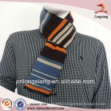 2013 Winter Warm Stripe Silk Viscose Scarf