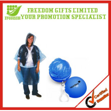 LOGO Printed Promotion Disposable Raincoat