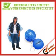 LOGO Printed Promotion Disposable Raincoat