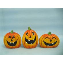 Calabaza de Halloween Arte y Artesanía de Cerámica (LOE2375-A9.5)
