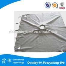 Finition du filtre de traitement du tissu de pression pour les filtres horizontaux de la courroie