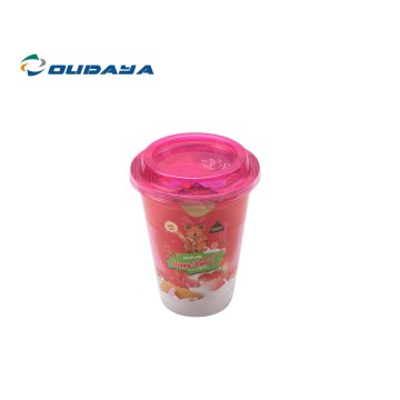 12oz tazza di snack in plastica PP IML