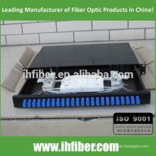 Boîte à bornes à fibre optique à montage fixe en rack