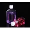 Botellas de almacenamiento de PET de forma cuadrada de 500 ml