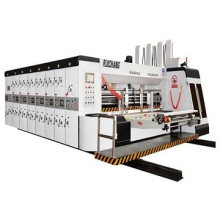 Automatic 2colors printing slotting die-cutting machine