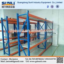 Einfach zu installierende mittelschwere Lagerung Stahl DIY-Regal