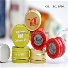 Aluminium Theft-Proofing Cap