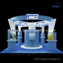 stand d'exposition en aluminium SHANGHAI matériel d'exposition conception libre 3D exposition stand dessins d'exposition
