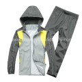 poliéster y elastano dr ajustan material para las chaquetas deportivas con nuevo diseño del deportista