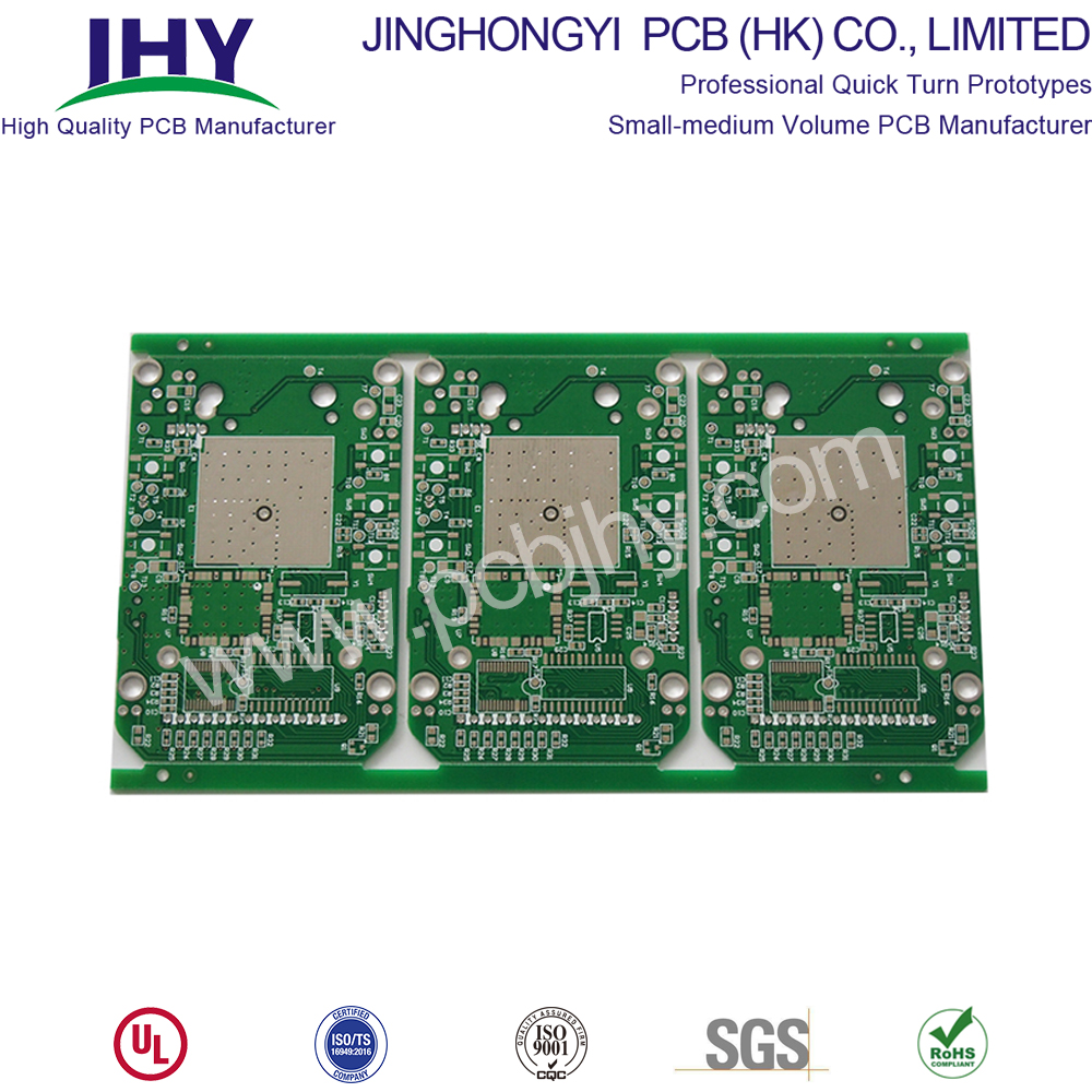 TG 150 Green 1oz Double sided PCB