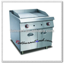 K273 Stainless Steel With Cabinet Electric Or Gas Griddle