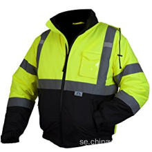 Hej Viz Klass 3 Hooded Bomber Safety Jacket