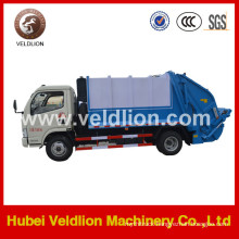 4*2 Dongfeng Compractor Garbage Truck