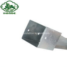 Pondasi Ground Screw Hot-Galvanized Steel