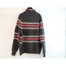 Camisola de gola alta para roupas de inverno com mangas compridas
