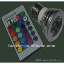 3W battery operated color changing led lights 100-240V