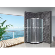 Acid Glass Shower Door Without Tray (AS-906)