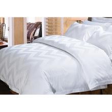 100% хлопок или T / C 50/50 жаккардовый отель / домашний комплект постельных принадлежностей (WS-2016278)
