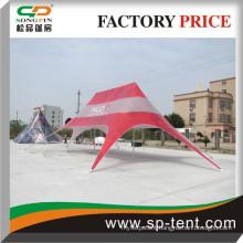 2014 Keenest price big Advertising pop up beach double star tent 14x19m