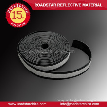 Conspicuous wear resistant lycra reflective band