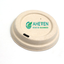 Anhui EVEN Wholesale 100% Biodegradable Food Grade Sugarcane Bagasse Coffee Cup With Lid For Restaurant