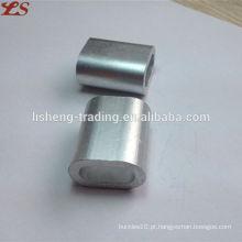 Alta qualidade us tipo alumínio mangas oval