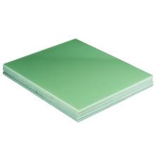Feuille / panneau / plaque de fibre de verre époxyde de fr4 époxyde de 1/8 ''