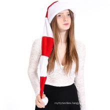 Xmas Festival Party Decoration Non Woven Ultra Soft Hats Children Adult Classic Santa Claus Xmas  Christmas Hat