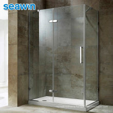Seawin Cabin Gold Round Base Room Large Faucet Turkey Assemble Curved Shower Doors